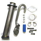 6.0 Ford EGR Delete Kit w/Up Pipe
